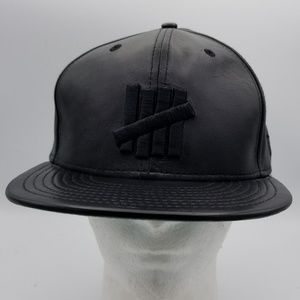 Undefeated Black Sheep Leather Hat size 7 1/4